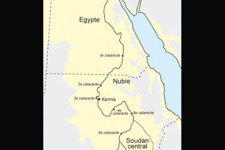 01. Kerma est situee en Nubie au sud de la Troisieme Cataracte .jpg